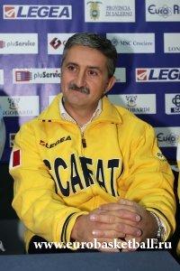 Чемпионат Италии. В Скафати новый тренер.