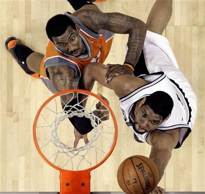 Чемпионат НБА. Сперс показали чемпионский характер!