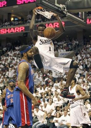 Чемпионат НБА. Филадельфия займет место Детройта?