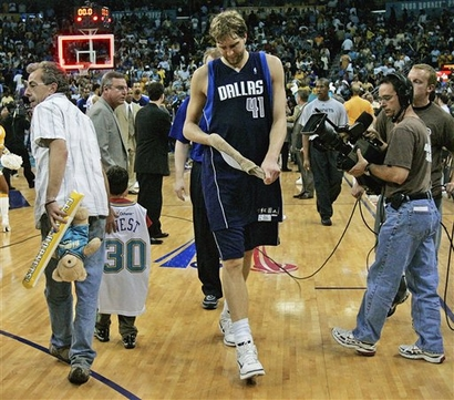Чемпионат НБА. Даллас Майверикс завершил сезон!