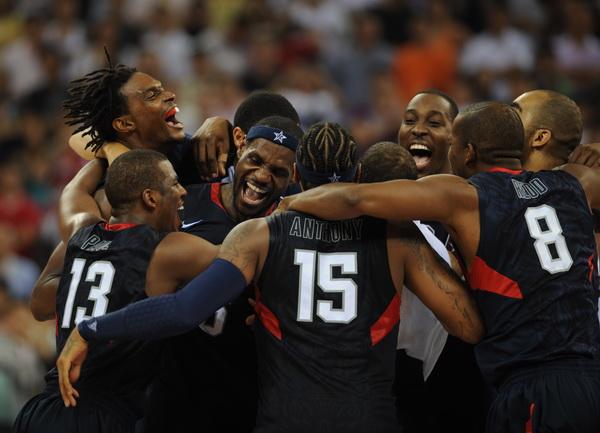 Сборная США-олимпийский чемпион 2008!