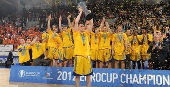 Химки- чемпион Еврокубка!