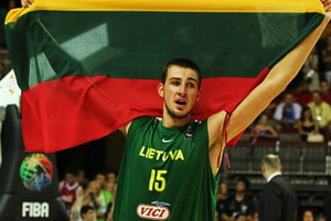 Йонас Валанчюнас, сборная Литвы