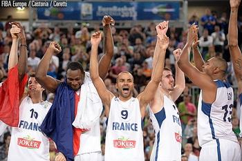 Сборная Франции - чемпион Европы