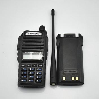 Радиостанция Баофенг: вид спереди и сзади